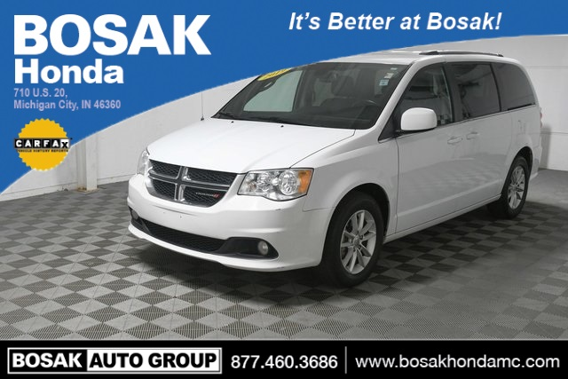Pre Owned 2019 Dodge Grand Caravan Sxt 4d Passenger Van In Merrillville C4806p Bosak Motors Cdjr