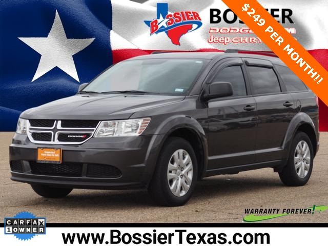 2016 Dodge Journey >> Pre Owned 2016 Dodge Journey Se Fwd 4d Sport Utility
