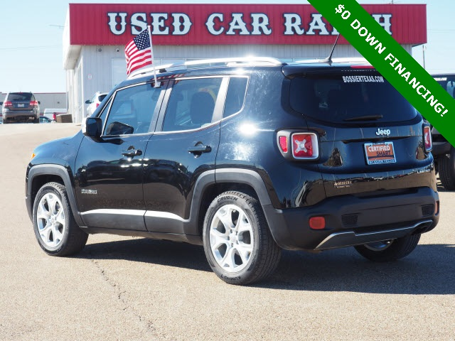 Pre-Owned 2016 Jeep Renegade Limited