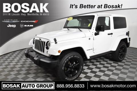 Certified Pre-Owned 2015 Jeep Wrangler Altitude