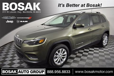 Certified Pre-Owned 2020 Jeep Cherokee Latitude
